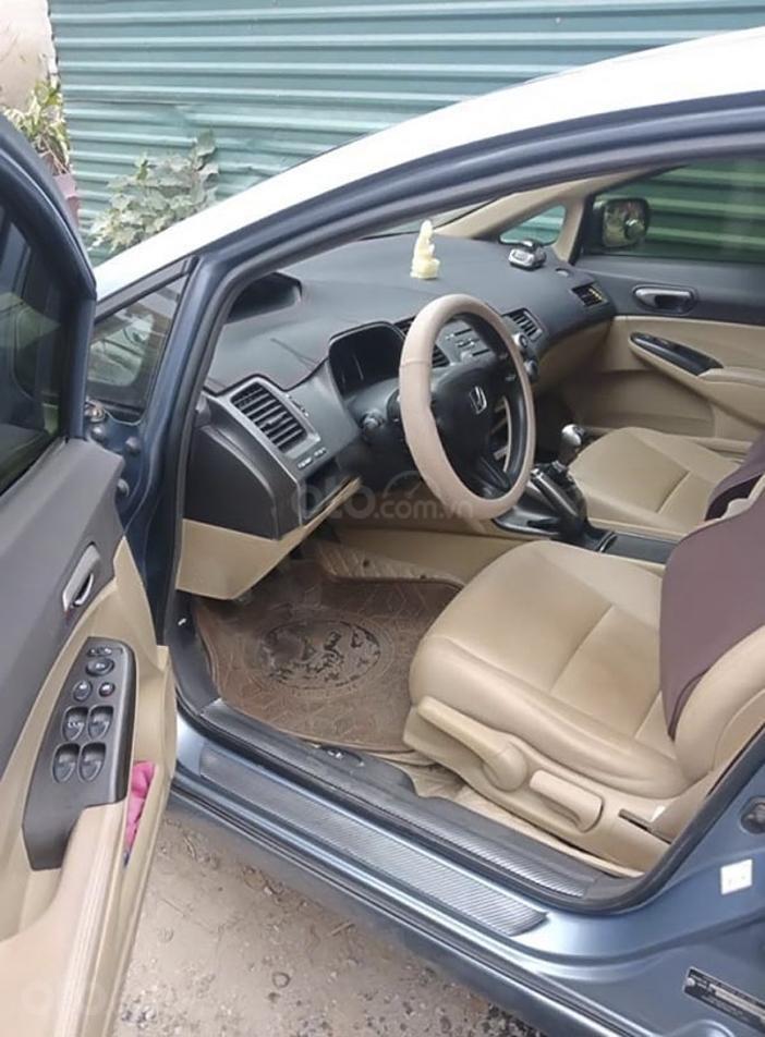 Cần bán Honda Civic 1.8 MT năm sản xuất 2007, màu xanh lam (4)