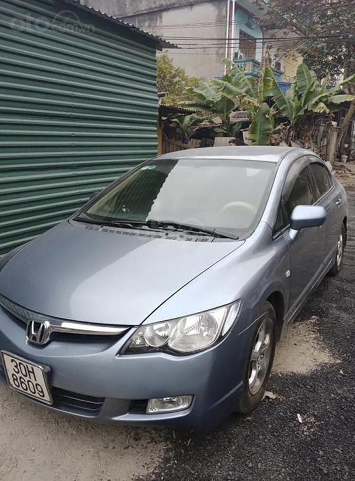 Cần bán Honda Civic 1.8 MT năm sản xuất 2007, màu xanh lam (1)