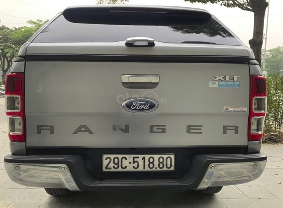 Cần bán gấp Ford Ranger XLT 2.2L 4x4 MT sản xuất năm 2016, màu xám, nhập khẩu (4)