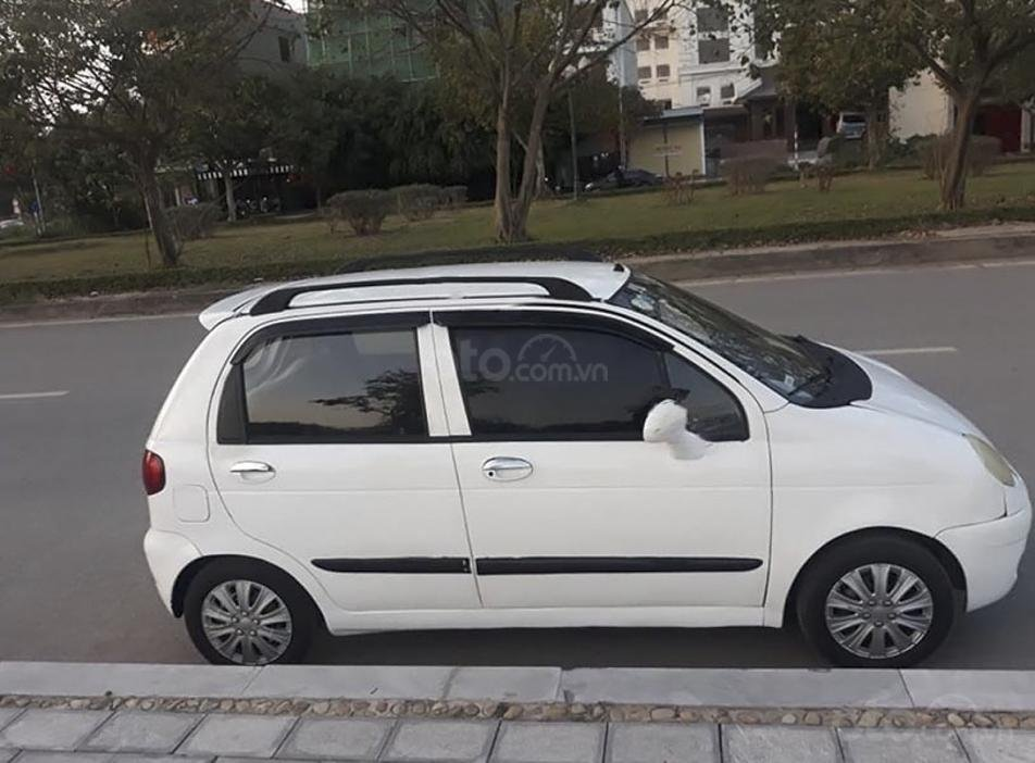 Cần bán gấp Daewoo Matiz SE 0.8 MT năm 2005, màu trắng (5)