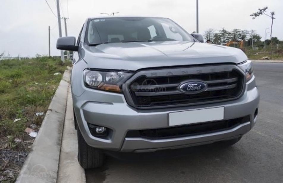 Xe Ford Ranger năm sản xuất 2018, màu bạc, nhập khẩu nguyên chiếc, giá thấp (1)
