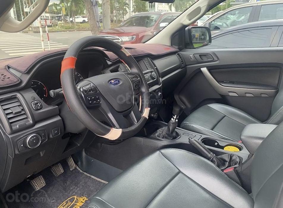 Xe Ford Ranger năm sản xuất 2018, màu bạc, nhập khẩu nguyên chiếc, giá thấp (4)