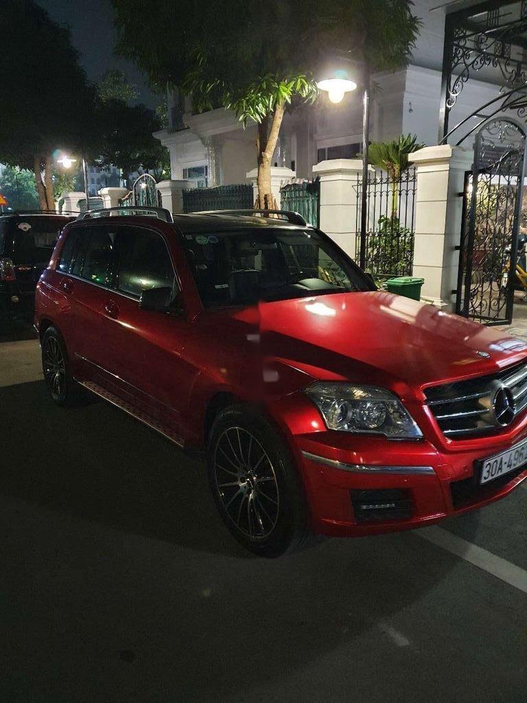 Bán Mercedes GLK Class đời 2009, màu đỏ chính chủ (1)