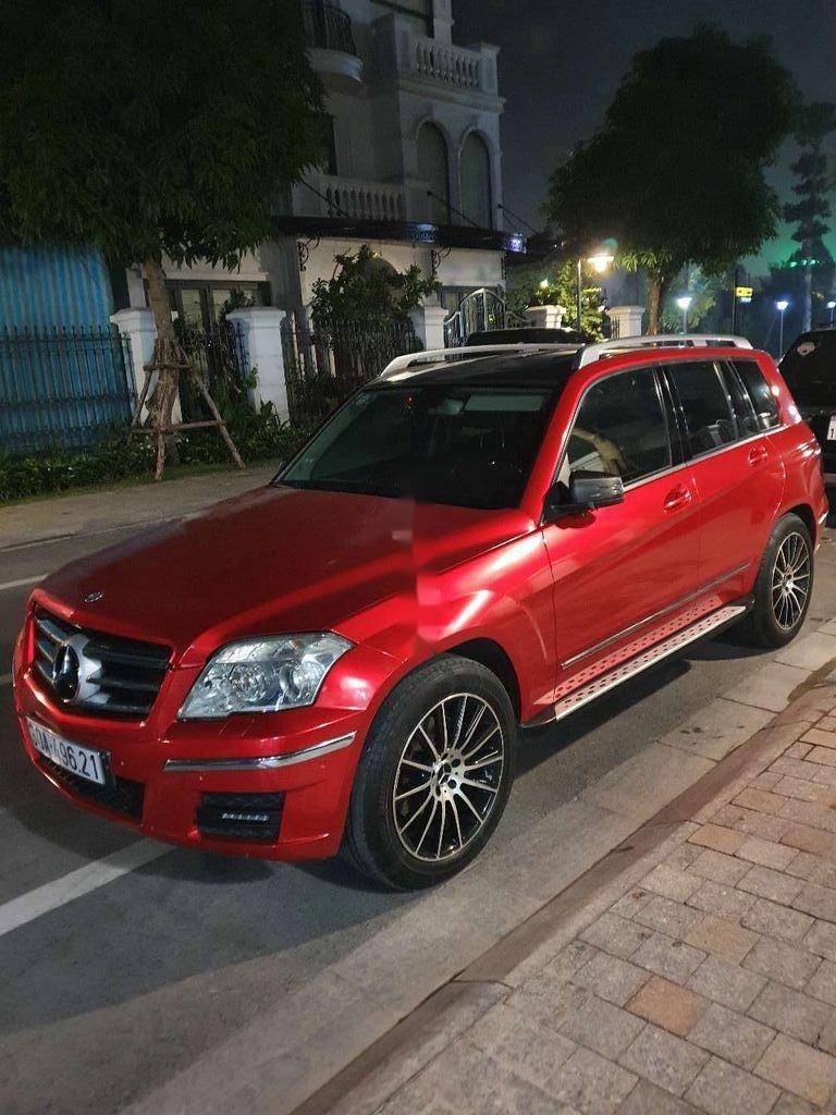 Bán Mercedes GLK Class đời 2009, màu đỏ chính chủ (2)