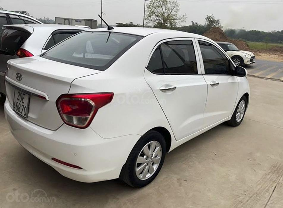 Bán xe Hyundai Grand i10 đời 2016, màu trắng, xe nhập (5)