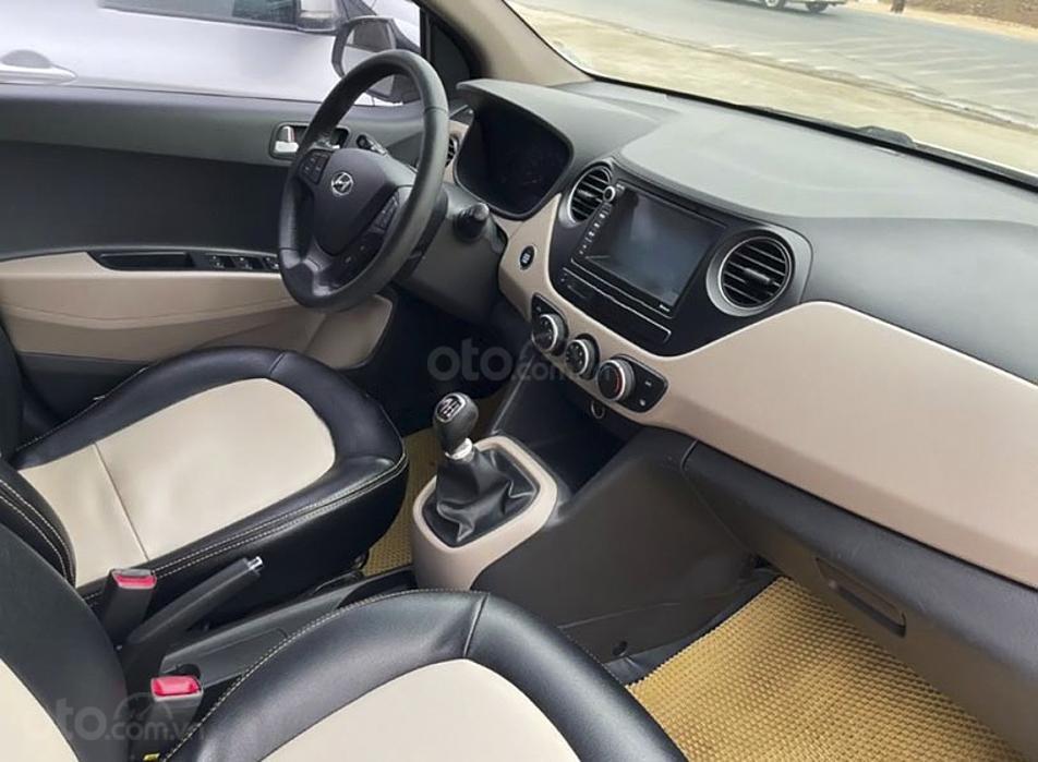 Bán xe Hyundai Grand i10 đời 2016, màu trắng, xe nhập (4)