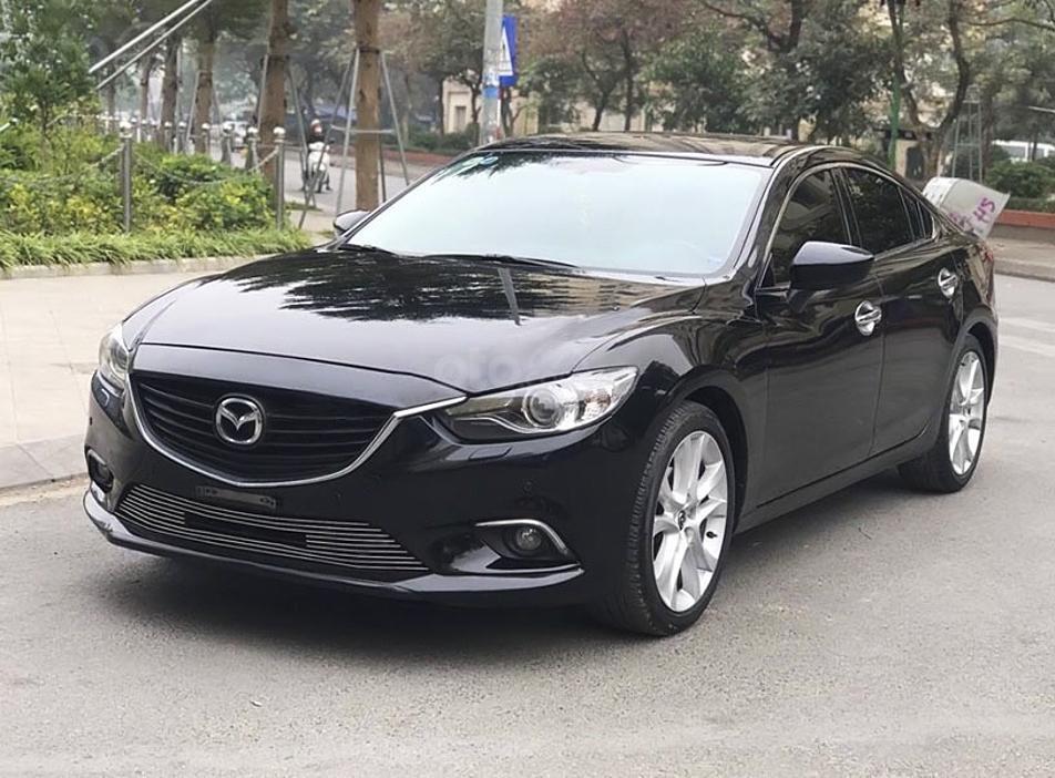 Bán Mazda 6 năm sản xuất 2016, màu đen  (3)