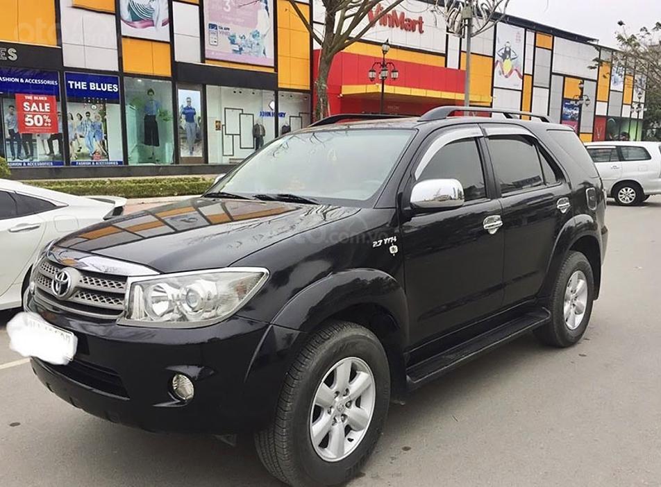 Cần bán lại xe Toyota Fortuner sản xuất năm 2009, màu đen, giá chỉ 415 triệu (4)