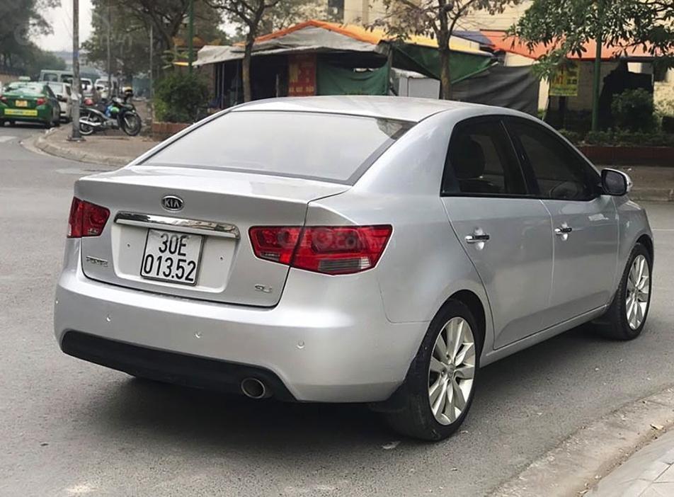 Bán Kia Forte sản xuất 2009, màu bạc, nhập khẩu nguyên chiếc, giá chỉ 328 triệu (6)