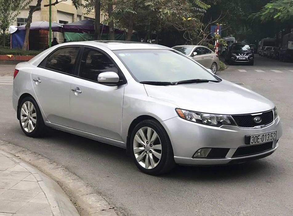 Bán Kia Forte sản xuất 2009, màu bạc, nhập khẩu nguyên chiếc, giá chỉ 328 triệu (1)