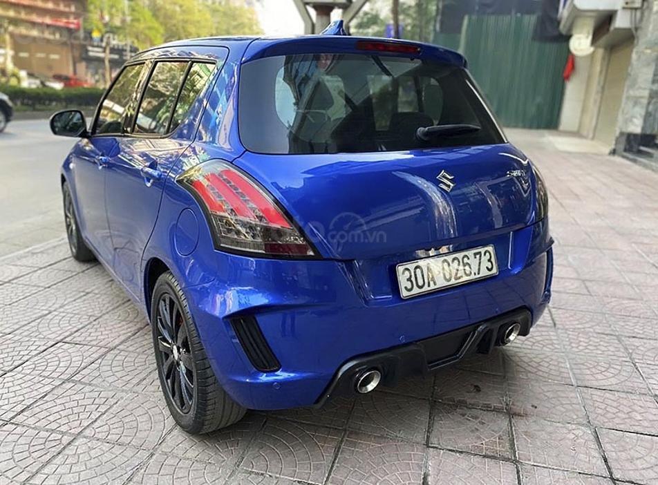 Bán Suzuki Swift năm sản xuất 2013, màu xanh lam, xe nhập (2)