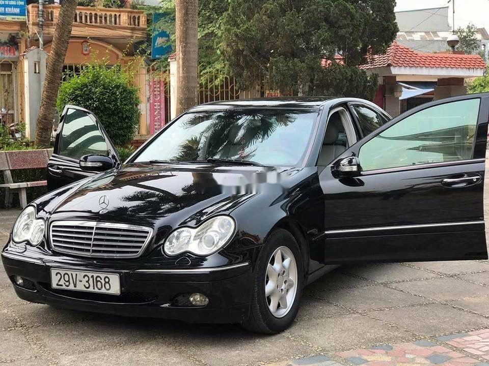 Cần bán xe Mercedes C180 đời 2004, màu đen  (2)
