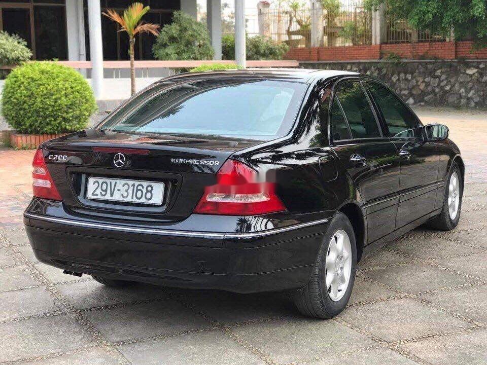 Cần bán xe Mercedes C180 đời 2004, màu đen  (3)