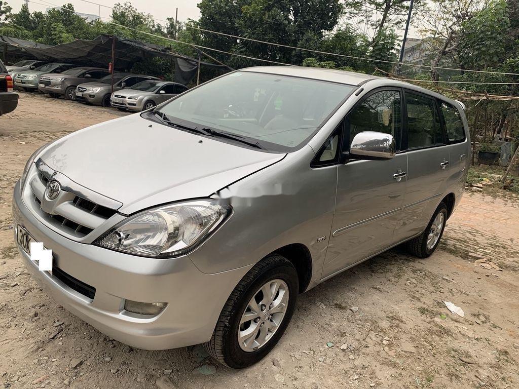 Bán ô tô Toyota Innova năm sản xuất 2008, màu bạc  (1)