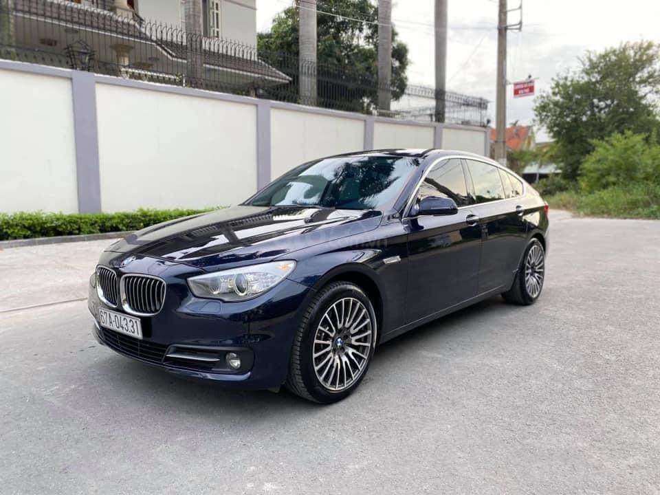 Cần bán lại xe BMW 5 Series sản xuất năm 2016, màu xanh lam (2)