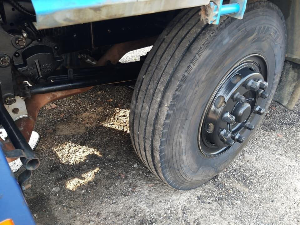 Bán xe tải Thaco Auman 4 chân 2017 đăng ký 2018 máy cơ, xe như mới (2)