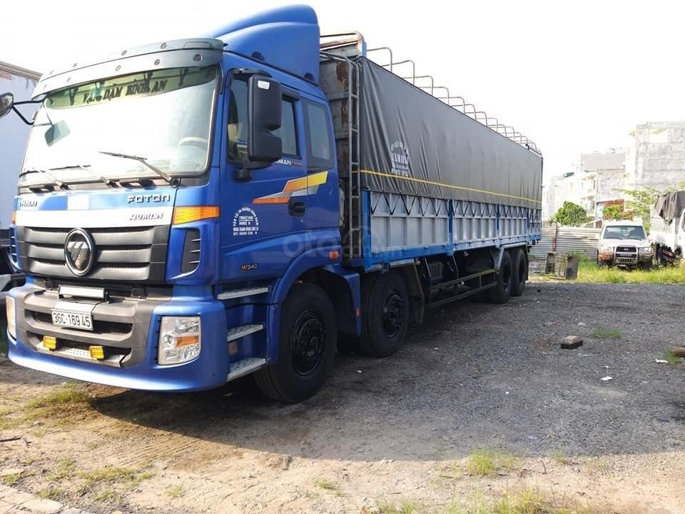 Bán xe tải Thaco Auman 4 chân 2017 đăng ký 2018 máy cơ, xe như mới (3)