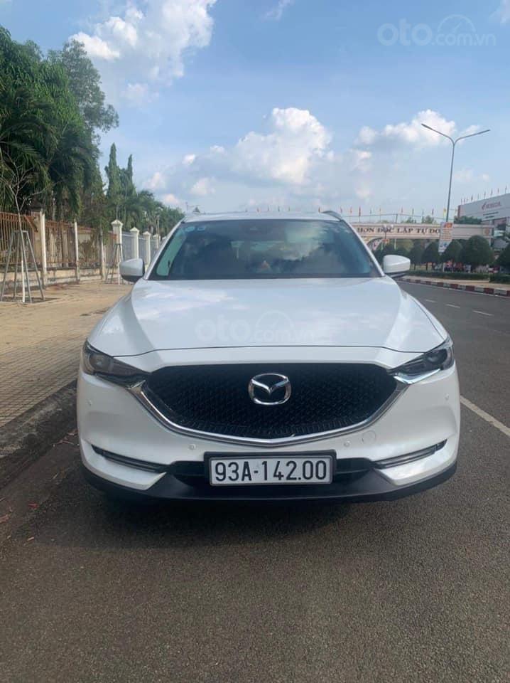 Cần bán xe Mazda CX 5 năm sản xuất 2018, màu trắng (1)