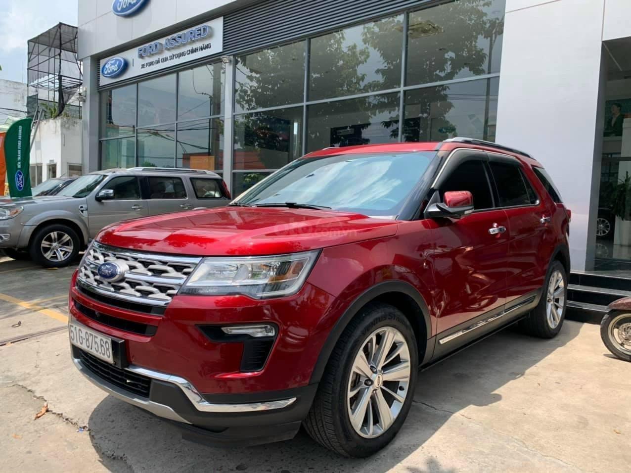 Bán chiếc Ford Explorer Demo 2018 xe cực đẹp, giá cực tốt (1)