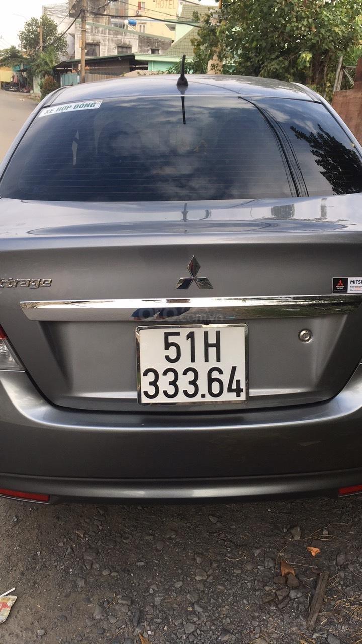 Cần bán lại Mitsubishi Attrage 2019, màu xám xe gia đình đi giữ còn rất tốt (2)