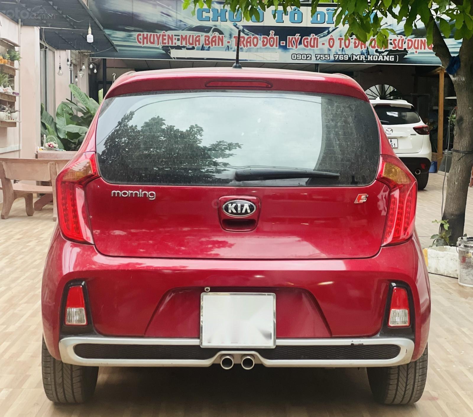 Cần bán xe Morning S AT màu đỏ, sản xuất năm 2018, biển thành phố, đi zin 3000 km, xe lướt như mới chỉ hơn 300 triệu (6)