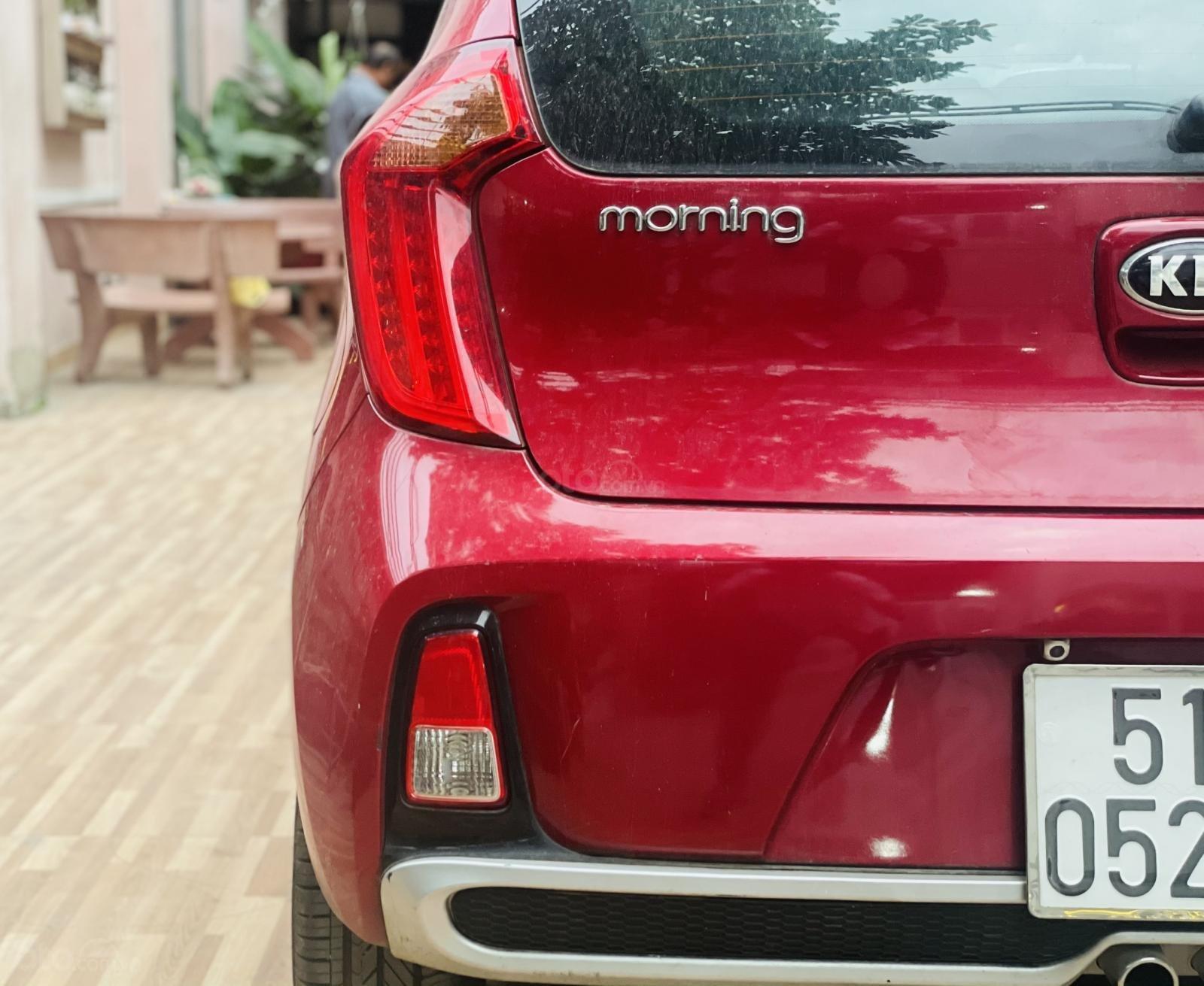 Cần bán xe Morning S AT màu đỏ, sản xuất năm 2018, biển thành phố, đi zin 3000 km, xe lướt như mới chỉ hơn 300 triệu (8)