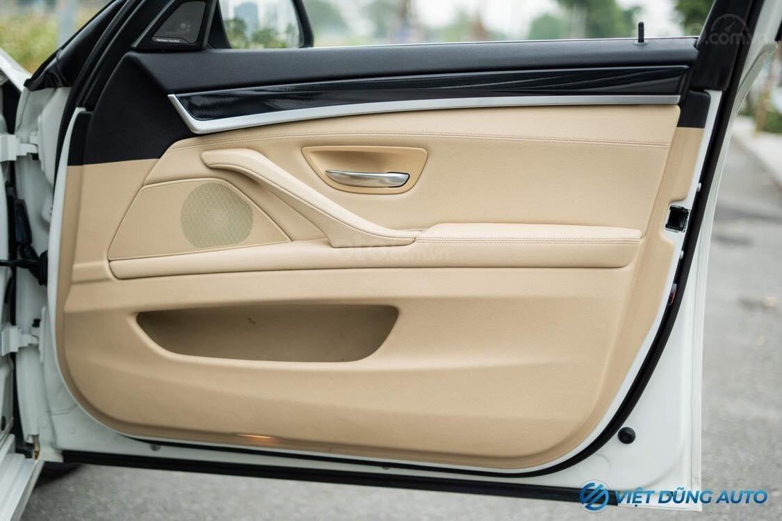 BMW 520i màu trắng nội thất kem hiếm có khó tìm sx 2014 số tự động (6)