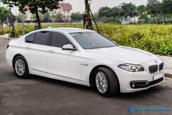 BMW 520i màu trắng nội thất kem hiếm có khó tìm sx 2014 số tự động (3)
