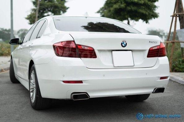 BMW 520i màu trắng nội thất kem hiếm có khó tìm sx 2014 số tự động (2)