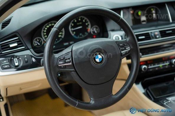BMW 520i màu trắng nội thất kem hiếm có khó tìm sx 2014 số tự động (4)