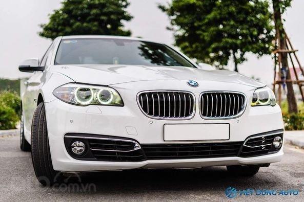 BMW 520i màu trắng nội thất kem hiếm có khó tìm sx 2014 số tự động (1)
