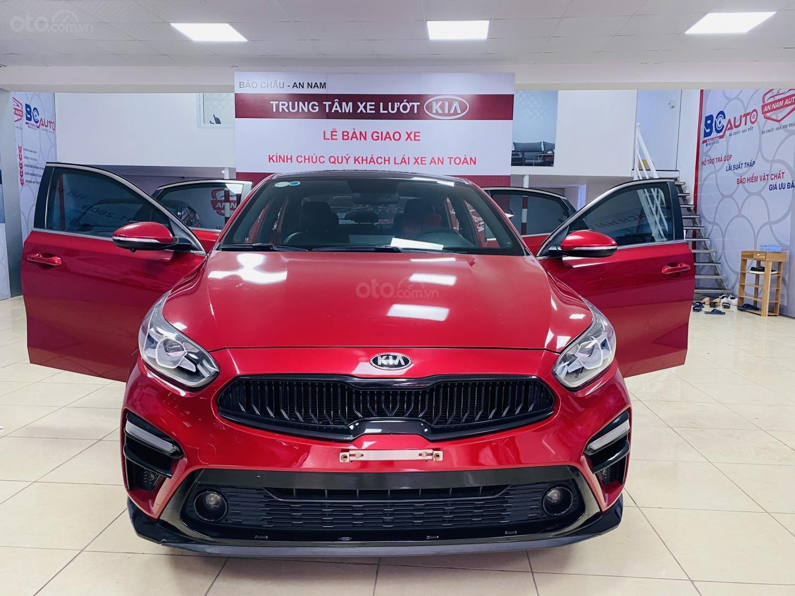Bán Kia Cerato sản xuất năm 2018, màu đỏ số tự động (1)
