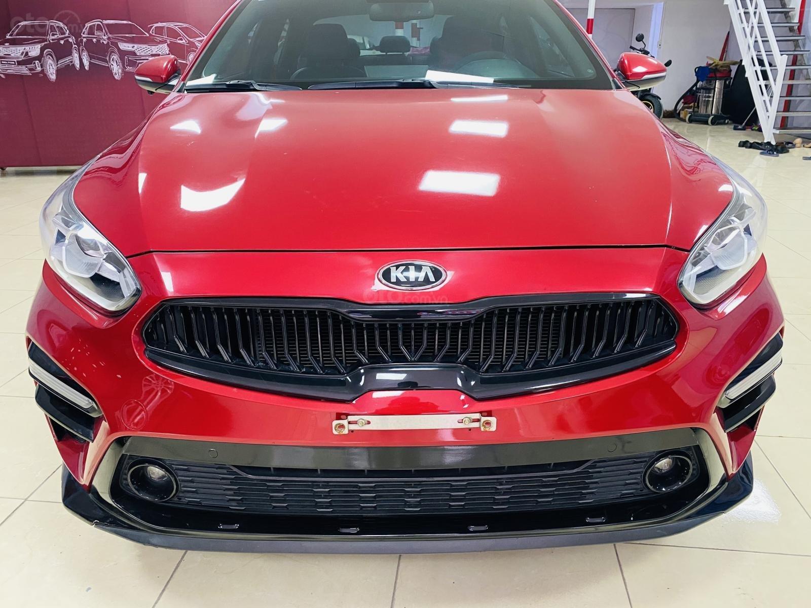 Bán Kia Cerato sản xuất năm 2018, màu đỏ số tự động (14)