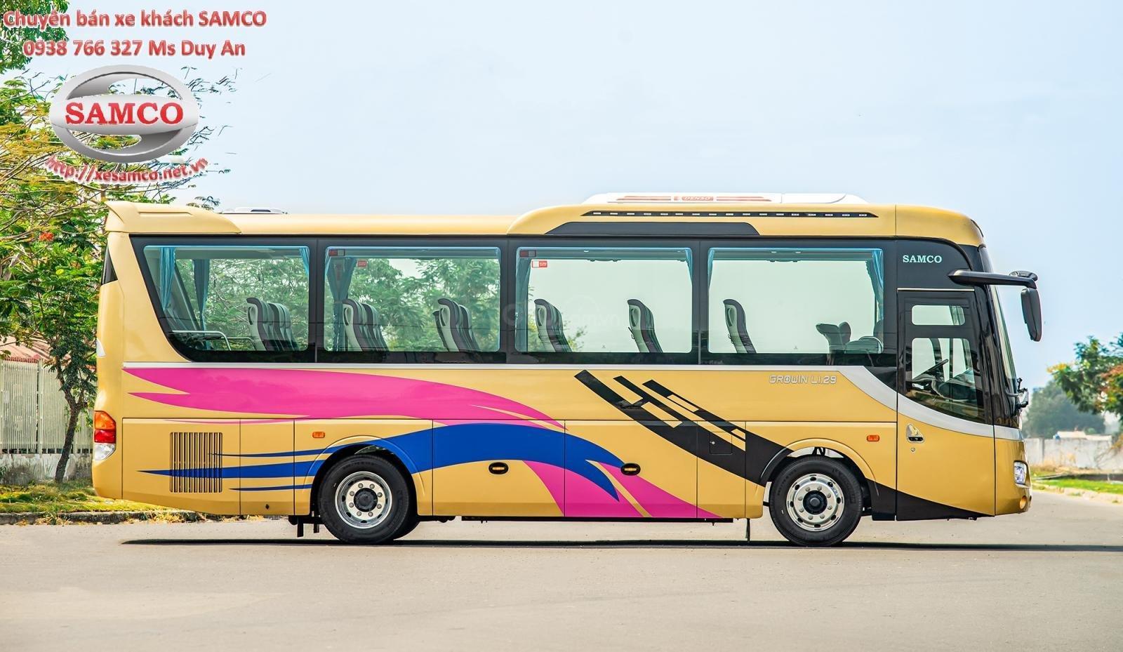 Bán xe khách Samco 29 chỗ ngồi động cơ Isuzu 5.2cc - Samco Growin - 06 bầu hơi máy sau (3)