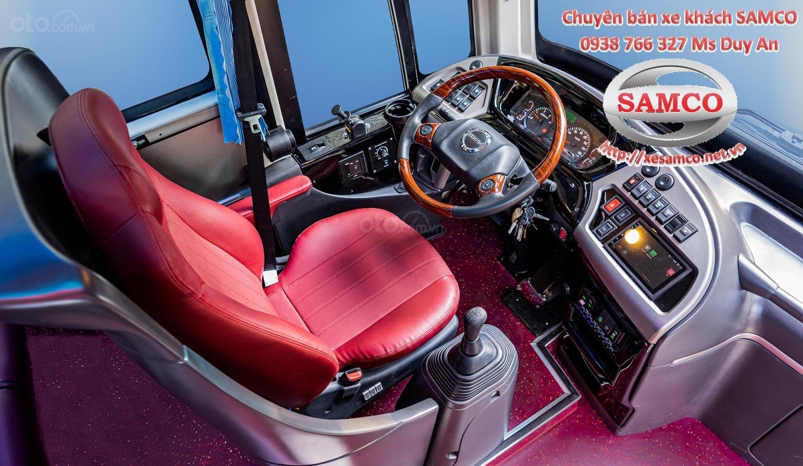 Bán xe khách Samco 29 chỗ ngồi động cơ Isuzu 5.2cc - Samco Growin - 06 bầu hơi máy sau (8)