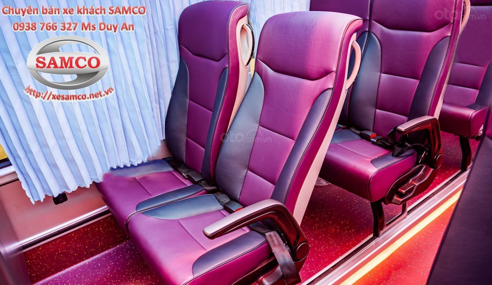 Bán xe khách Samco 29 chỗ ngồi động cơ Isuzu 5.2cc - Samco Growin - 06 bầu hơi máy sau (9)