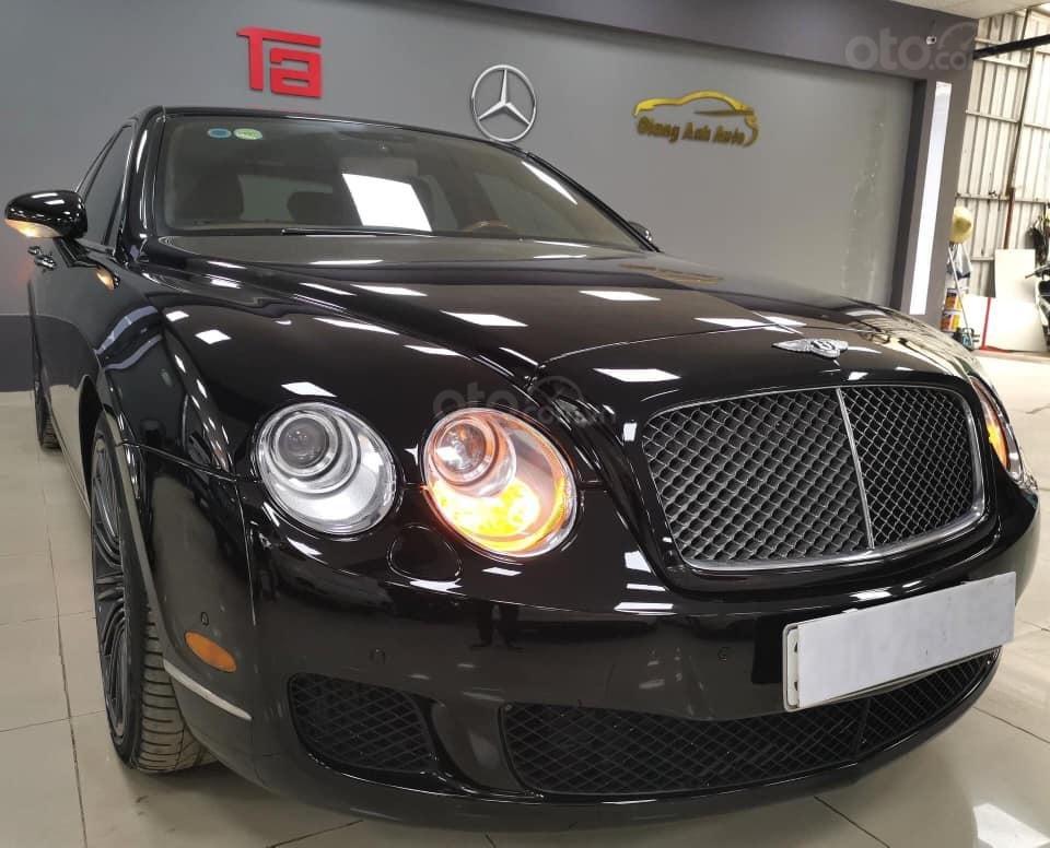 Bán Bentley Continental đời 2009, màu đen, xe nhập (2)