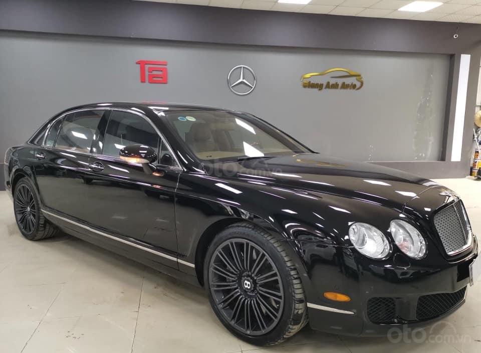 Bán Bentley Continental đời 2009, màu đen, xe nhập (3)