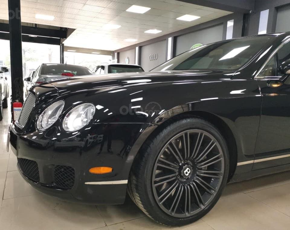 Bán Bentley Continental đời 2009, màu đen, xe nhập (5)