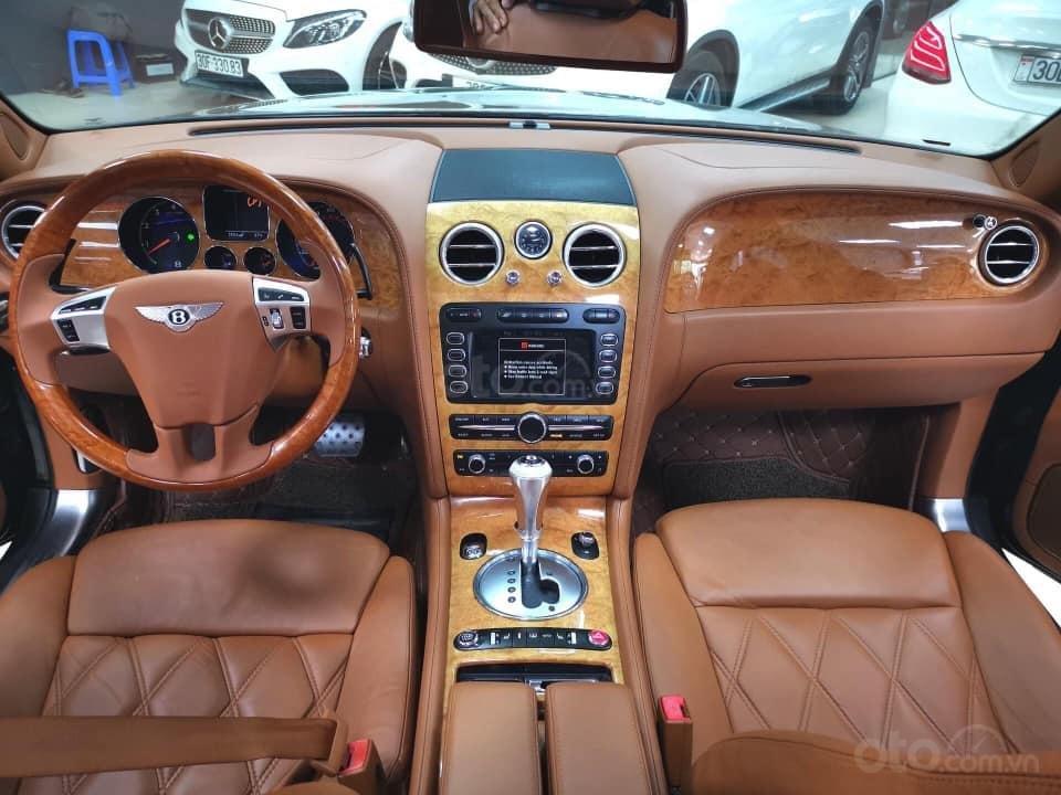 Bán Bentley Continental đời 2009, màu đen, xe nhập (8)