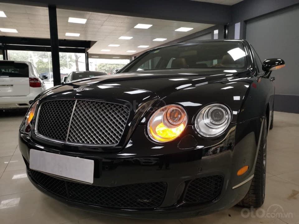 Bán Bentley Continental đời 2009, màu đen, xe nhập (4)