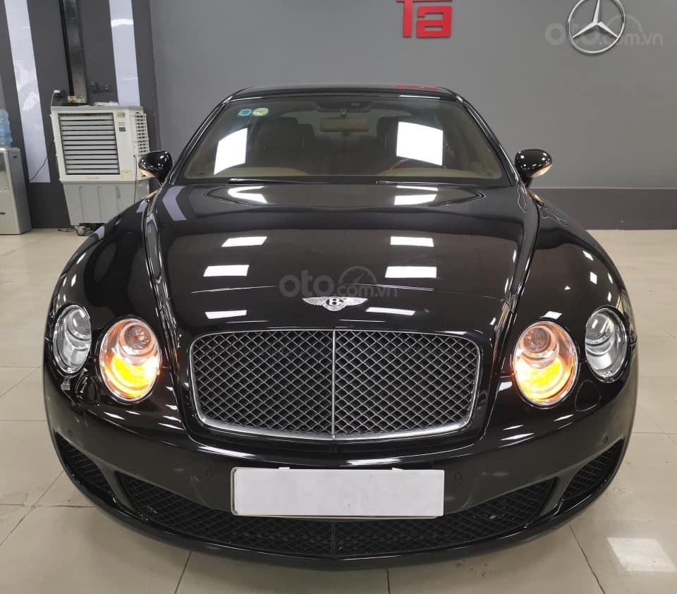 Bán Bentley Continental đời 2009, màu đen, xe nhập (7)