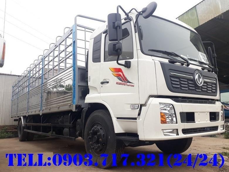 Giải phóng lô xe tải DongFeng 8 tấn(B180) thùng 9m5 Hoàng Huy nhập khẩu 2020 - hỗ trợ Bank đến 70 - 75 % giá trị của xe (1)