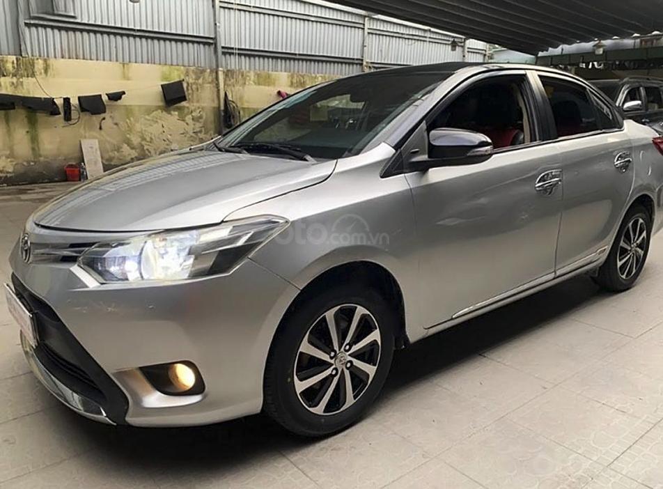 Bán ô tô Toyota Vios 1.5E sản xuất 2015, giá ưu đãi (1)
