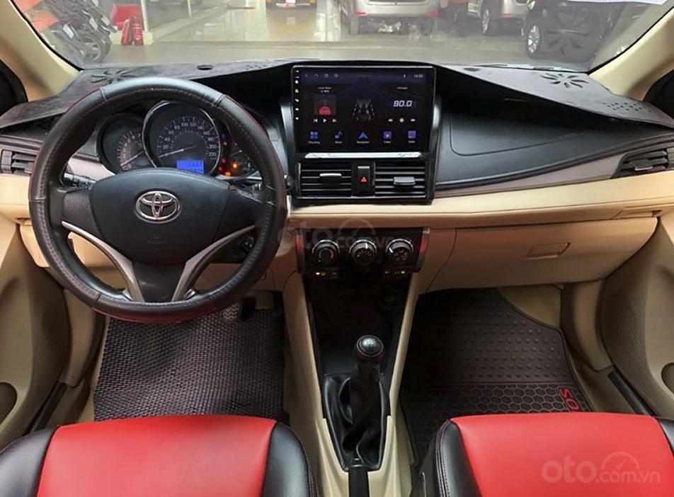 Bán ô tô Toyota Vios 1.5E sản xuất 2015, giá ưu đãi (3)