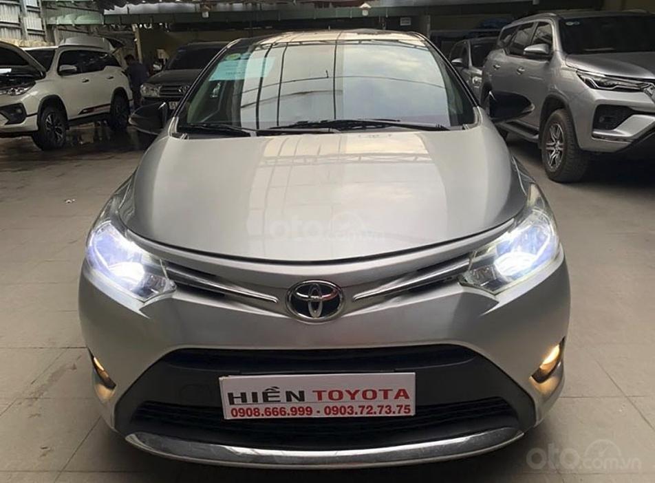 Bán ô tô Toyota Vios 1.5E sản xuất 2015, giá ưu đãi (5)