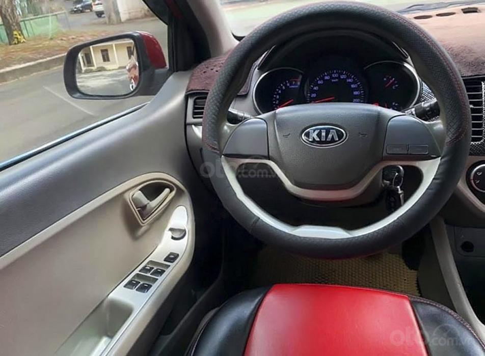 Bán xe Kia Morning năm sản xuất 2016, màu đỏ (4)