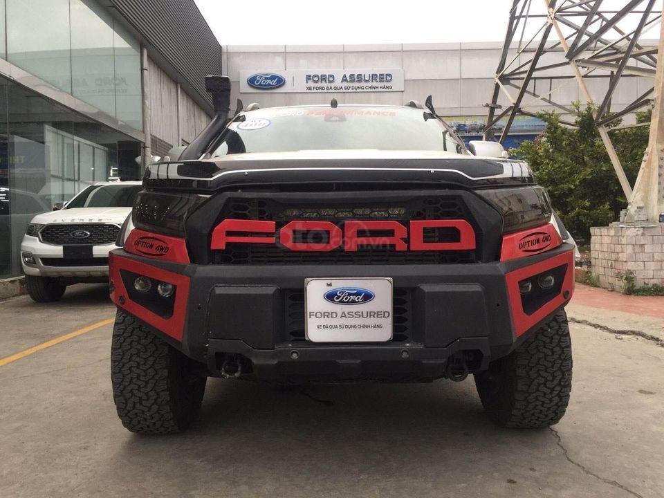 Bán Ford Ranger đời 2017, màu trắng số tự động, 797 triệu (1)