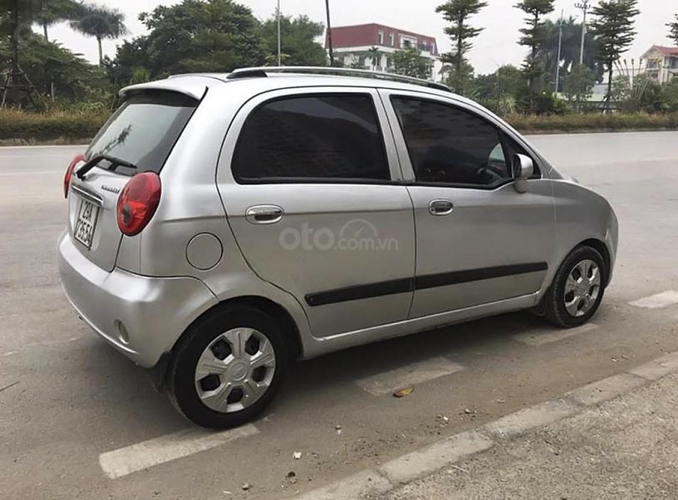 Cần bán lại xe Chevrolet Spark sản xuất 2009, màu bạc (3)