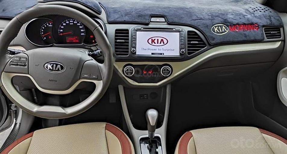 Bán xe Kia Morning sản xuất năm 2018, màu bạc, giá ưu đãi (3)